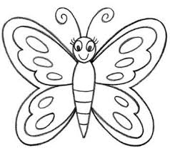 drawing butterfly pictures. Exellent Drawing How To Draw A Butterfly In Easy Way  Art Designs Intended Drawing Pictures