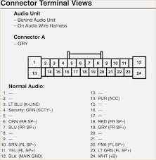 2006 honda accord radio wiring diagram davehaynes me 2006 honda accord radio wiring diagram honda car radio stereo audio wiring diagram autoradio connector