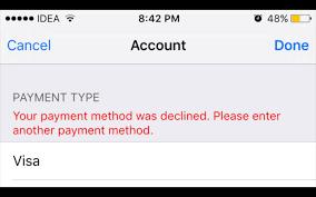 Declined Getting - My Debit Card Keeps