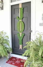front door lettersMossCovered Letters for Front Door Dcor