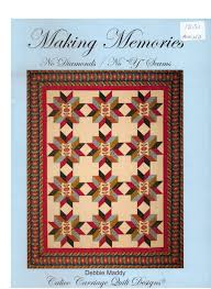 On Sale Making Memories No Diamonds No Y Seams Debbie Maddy Calico ... & On Sale Making Memories No Diamonds No Y Seams Debbie Maddy Calico Carriage  Quilt Designs Technique Book Quilting Quilt Pattern Quilters from ... Adamdwight.com