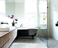 patterned bathroom floor tiles best tile patterns ideas on black and white b