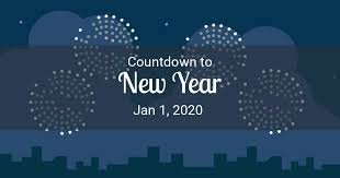 New Year Countdown - Countdown to New Year 2020