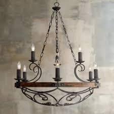 black metal chandelier. Madera 34 1/2\ Black Metal Chandelier