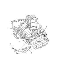 2007 chrysler pacifica lower torque converter cover diagram i2170523