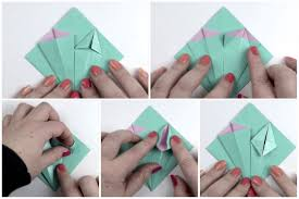 Paper Origami Flower Making Make An Easy Origami Lily Flower