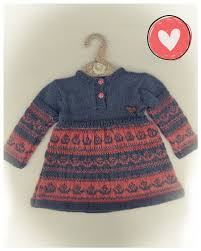 Hand Knitted Sweaters Designs For Baby Girl Wegmans Baby Hand Knitted Woolen Frock Salte Gray And Pitch