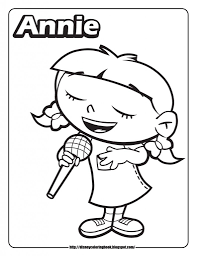 Small Picture Little Einsteins Coloring Pages Annie Cartoons Coloring Home