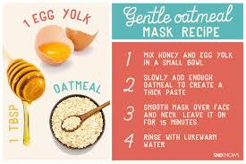 pin gentle oatmeal mask