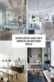 kitchen design open plan. 30 spacious and airy open plan kitchen ideas design