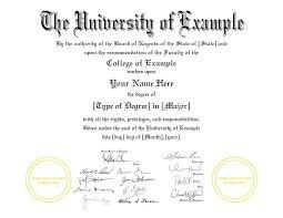 Fake College Diplomas Certificates Customize Buy Online Fast