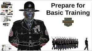 how to prepare train for basic boot c