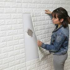 60x15cm self adhesive 3d wall stickers