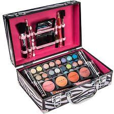 makeup kit for teenage girls. teen all in one makeup gift kit set train case elegant for young girls teenage p