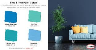 aqua paint colorsBlue  Teal  Paint Colors