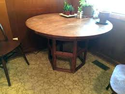 expanding round dining table expandable extending sets expanding round dining table