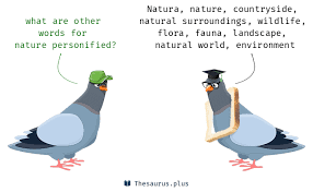 Word Of Nature 10 Nature Personified Synonyms Similar Words For Nature Personified