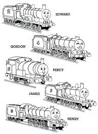 Thomas The Train Coloring Page Iamdriverinfo