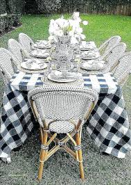 round patio table tablecloth outdoor best inside design 17
