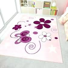 kids rug girls pink children bedroom carpet erfly princess soft play mat rugs nursery room round rugs pink