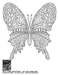 Butterfly Coloring Pages Hard Fresh Best To Print This Free Page