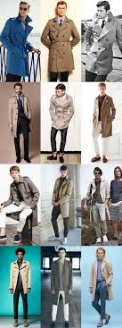 men s trench coats outfit inspiration lookbook