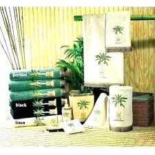 palm tree rug set bath tropical bathroom accessories decor large size of towel rugs mats