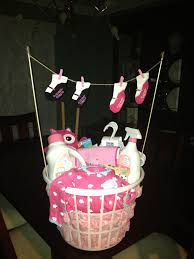 laundry basket baby shower gift