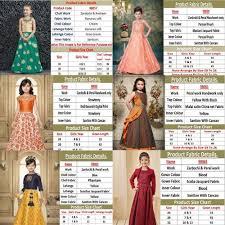 4 Year Girl Dress Size Chart Kids Wear Wholesaler From Navsari