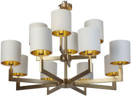 rv astley ealga antique brass 12 arm chandelier
