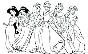Minnie Mouse Coloring Pages For Toddlers Princess Mouse Coloring