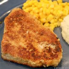 breaded pork chops 101 cooking for two