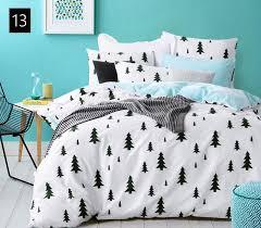 high count density cotton duvet covers set black bedding set double single duvet covers twin queen king