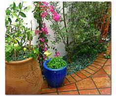 Small Picture Garden and Patio Design garden ideas Pinterest Spanish