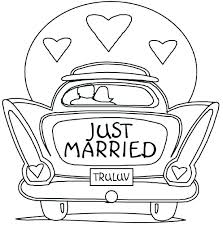 Free Wedding Coloring Pages To Print Coloring Smart Design Wedding