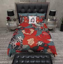 Rockabilly Tattoo Style Duvet Bedding Sets - Ink and Rags & Rockabilly Tattoo Style Duvet Bedding Sets Adamdwight.com