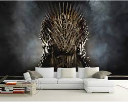 life size iron throne game of thrones wallpaper iron throne wall murals custom photo