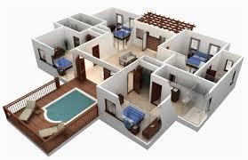 4 bedroom house designs. Perfect Bedroom Simple House Design 4 Bedroom Plans With Bedroom House Designs A