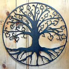 tree of life with hearts outdoor wall art on external wall art melbourne with tree of life with hearts outdoor wall art tree art pinterest