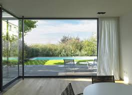 Large Glass Windows in Modern Large-House with Low Energy in Luxembourg