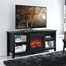 tv stand w fireplace essential wood stand with fireplace insert black 1 big lots fireplace tv