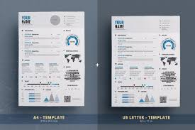 Infographic Resume Cv Template Vol 1 By Theresumecreator On