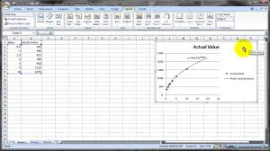 curve ing with microsoft excel
