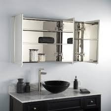 Wood Medicine Cabinet With Mirror Bathroom Recessed Medicine Cabinet Wood Recessed Medicine