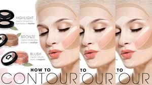 face contour makeup how to contour for your face shape makeup tutorials 2016