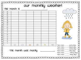Daily Weather First Grade Weather Daily Weather