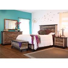 large picture of international furniture direct 966 antique 6 pc queen bedroom set hd