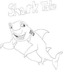 Small Picture Drawing Shark Tale Don Lino Coloring Pages Batch Coloring