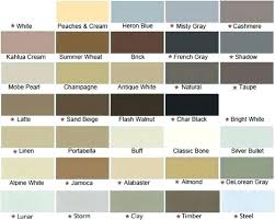 Quad Sealant Color Chart Quad Caulk Quad Caulk Colors Quad Caulk Paint Time Osi Quad