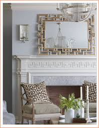 inspiring mirror over mantel ideas contemporary best idea home